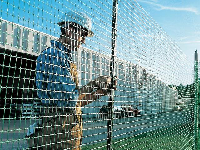 Сетка полимерная для декоративной ограды «Тенакс Квадра-10» 1х50.
