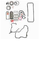 Комплект прокладок нижний CUMMINS  6L8.9 ISLE (4089759)