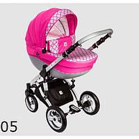 Универсальная коляска 2 в 1 Dada Paradiso Group Galileo цвет 05 (розовый)