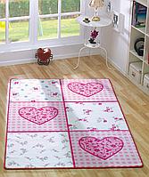 Ковер в детскую комнату Confetti - Romantic 01 розовый 100*160