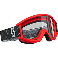 SCOTT    XI  Recoil    Brille  rot
