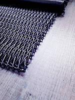 Сетка транспортерная с прямым стержнем двойного плетения
