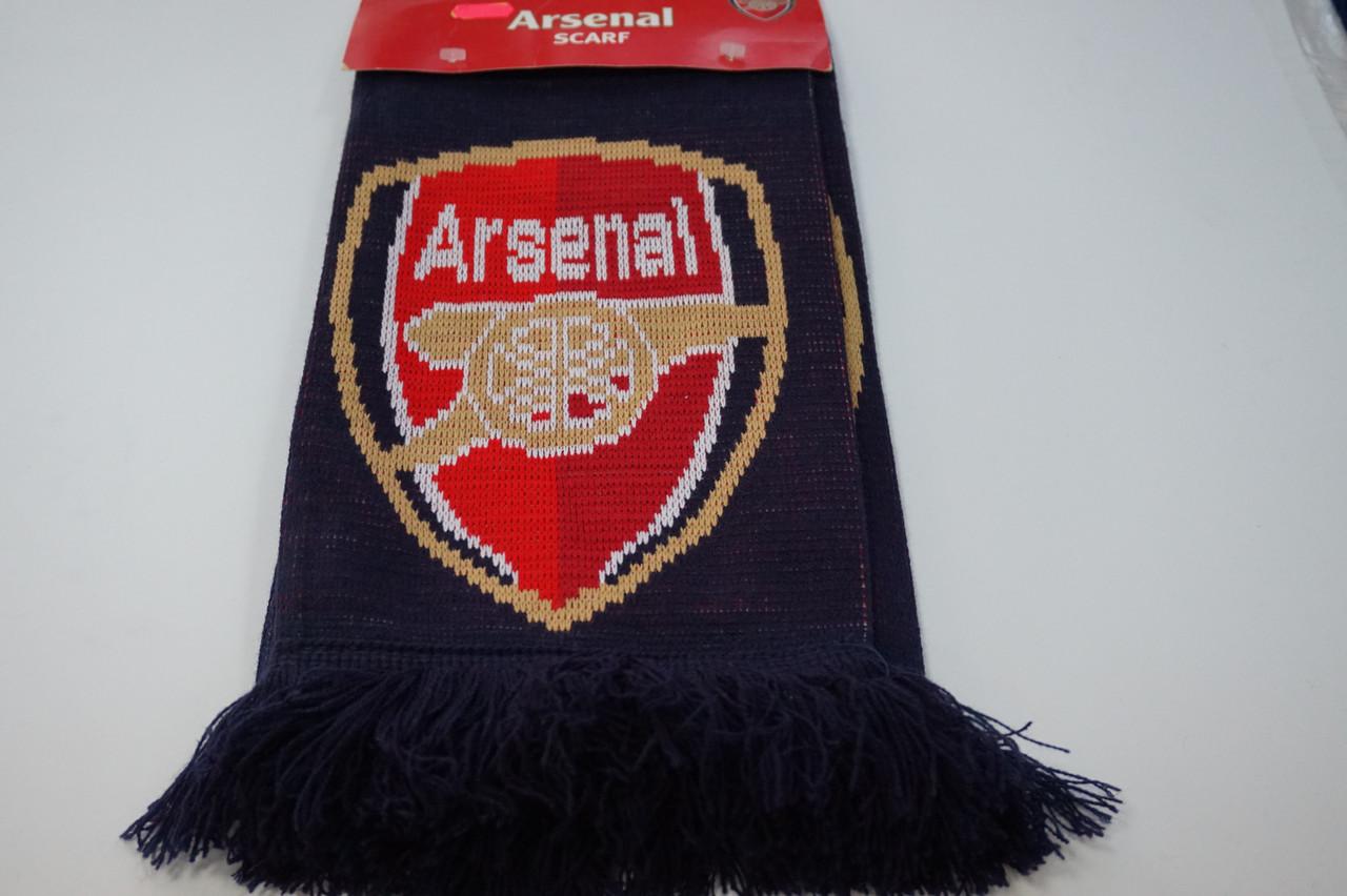 Футбольный шарф Arsenal London. Официальная атрибутика