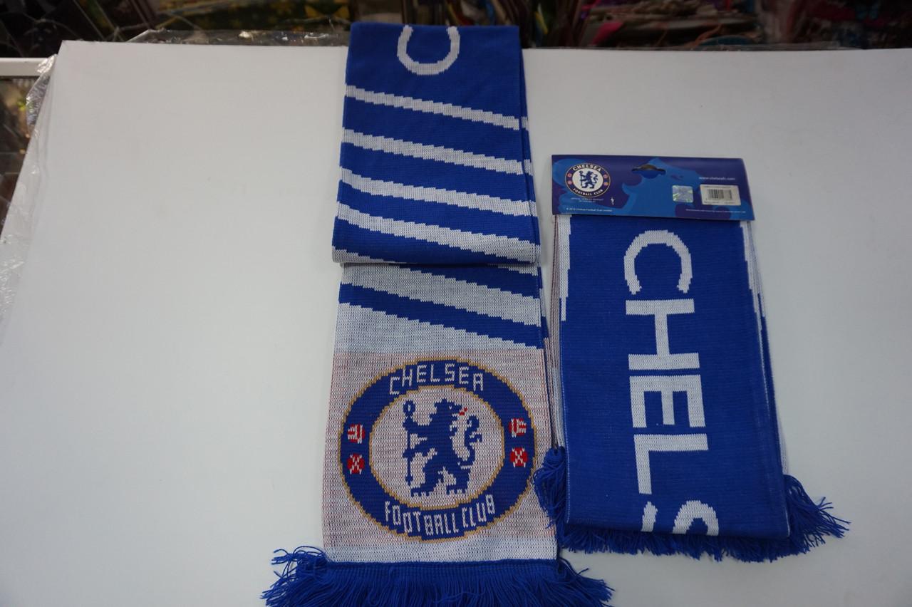 Футбольный шарф Chelsea. Официальная атрибутика