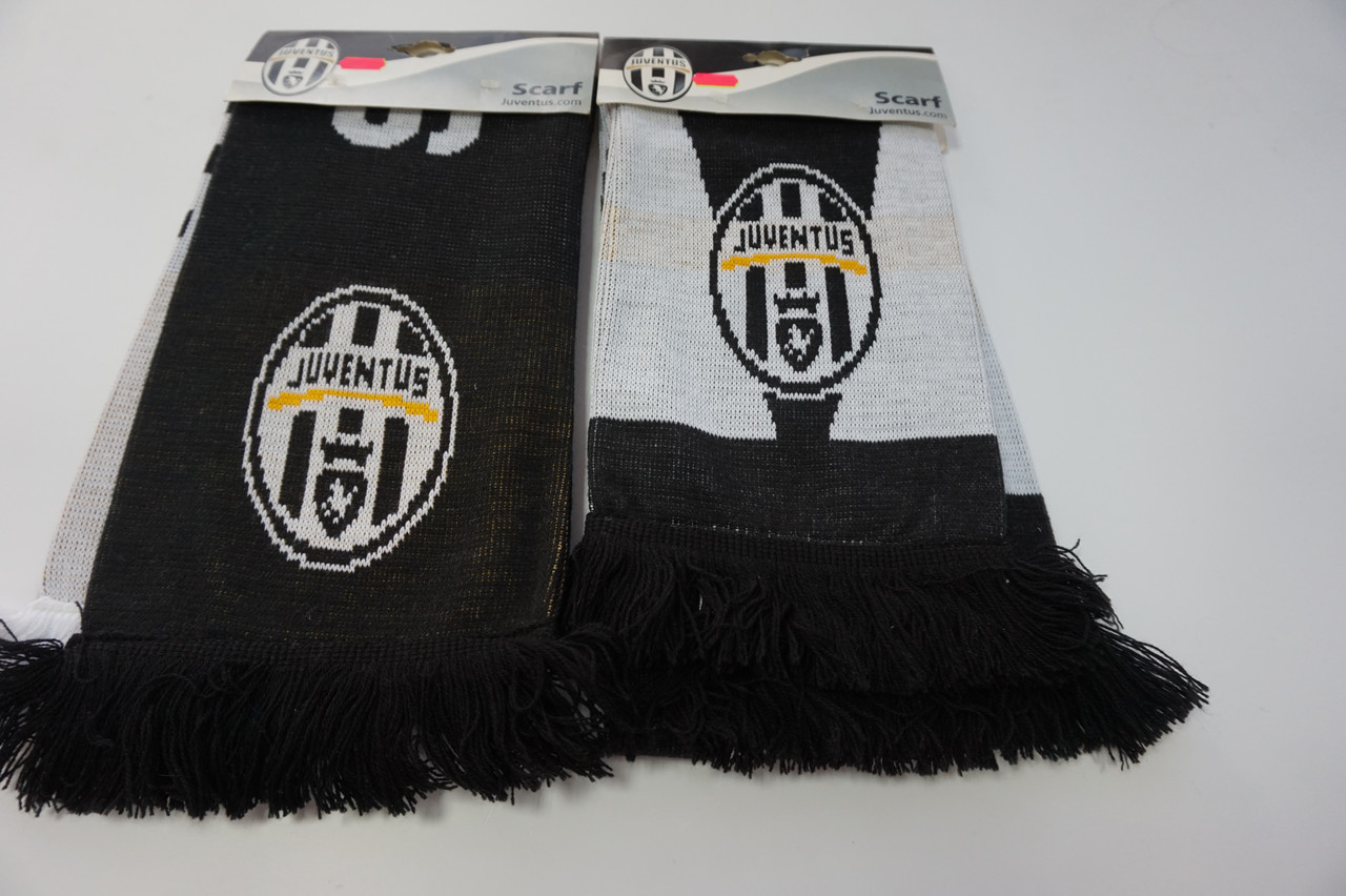 Футбольный шарф Juventus. Официальная атрибутика