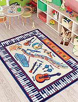 Ковер в детскую комнату Confetti - Music Anti-Slip 01 бежевый 133*190