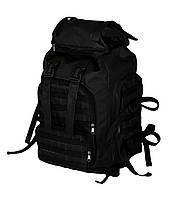 """Армейский рюкзак черный 60 л """"Support"""" военный тактический"""