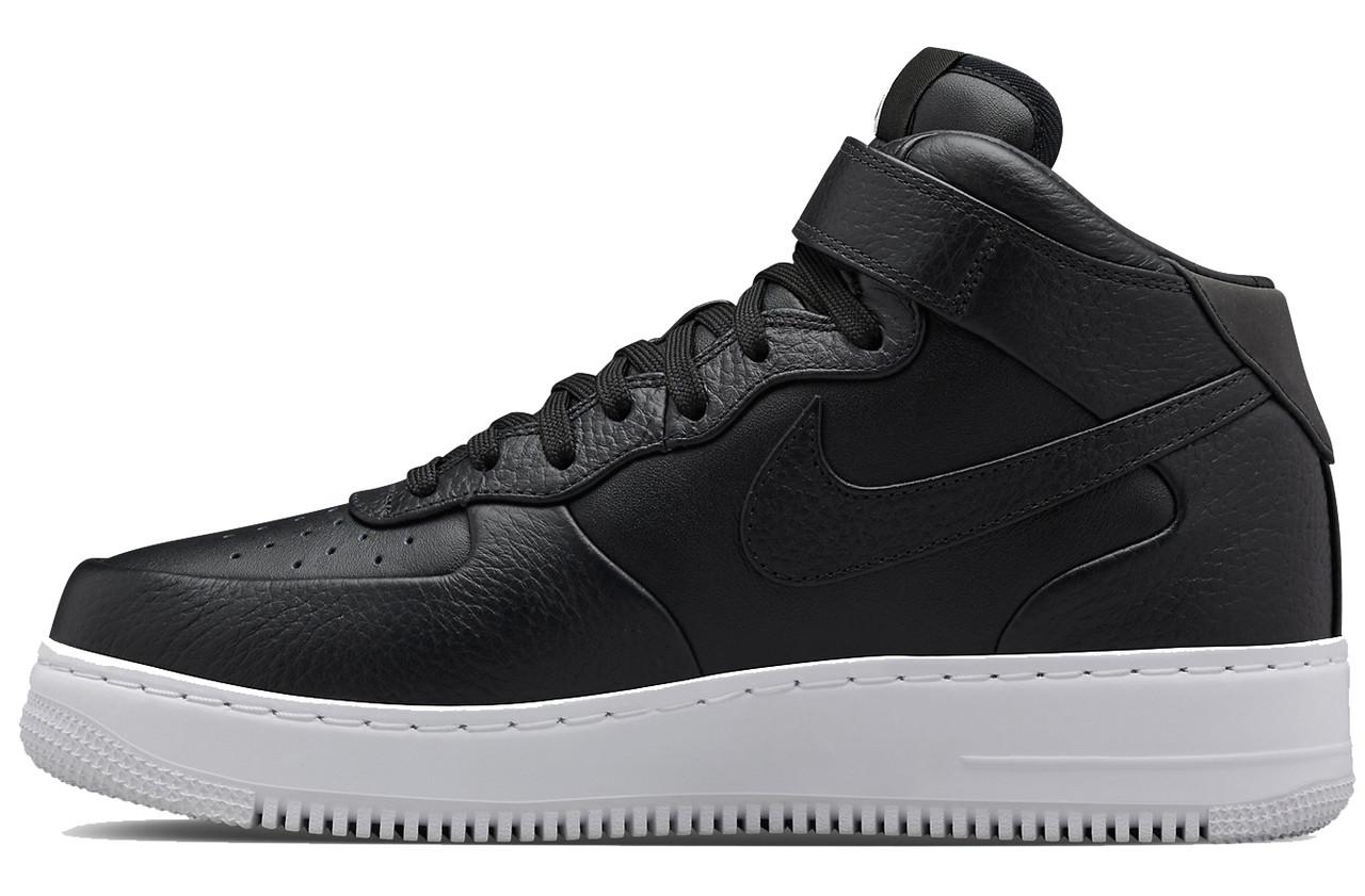Мужские кроссовки Nike Lab Air Force 1 Mid Leather, Найк Аир Форс