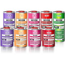 Растворители, очиститель силикона, смывка для краски.