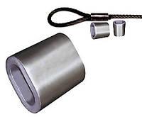 Зажим для тросов алюминиевый (М4) DIN 3093