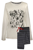 "Женская пижама Muzzy ""Зимний лес"""