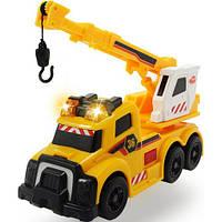 Функциональное авто с раскладным краном, звуковыми и световыми эффектами Dickie Toys