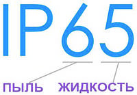 Таблица степени защиты (IP00-68)
