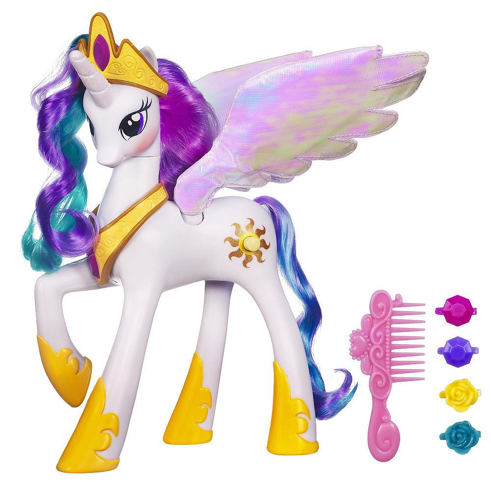 Пони принцесса Селестия интерактивная Май лит пони My Little Pony Princess Celestia electronic