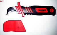 Нож монтерский с чехлом FORSAGE (1000 В), 190 мм, 124N-NEO 01-551