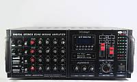 Усилитель мощности звуковой частоты AV-2017A профессиональный, микшер, SD/MMC, USB, простое управление