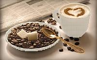 Схема для вышивки бисером Утренний кофе