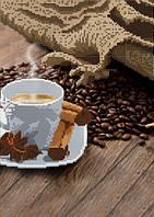 Схема для вышивки бисером Ароматный кофе с корицей