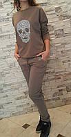 Модный итальянский костюм на байке для девочек 158,164,170 роста
