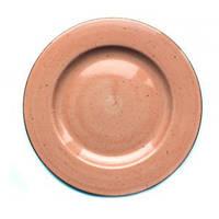 Тарелка 26 см Wersal Lubiana персиковая