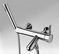Смеситель для ванной с душевым гарнитуром La Torre Konvex 17019 Хром