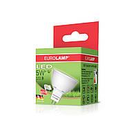 EUROLAMP LED Лампа ЕКО MR16 5W GU5.3 3000K