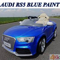 Детский электромобиль  Audi RS 5: 2.4G, EVA, кожа, 8 км/ч - Синий (6598547729)- купить оптом, фото 1