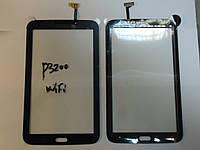 Сенсор Samsung P3200 P3210 T210 T211 T2100 T2110 Galaxy Tab 3 WiFi Black orig с самоклейкой