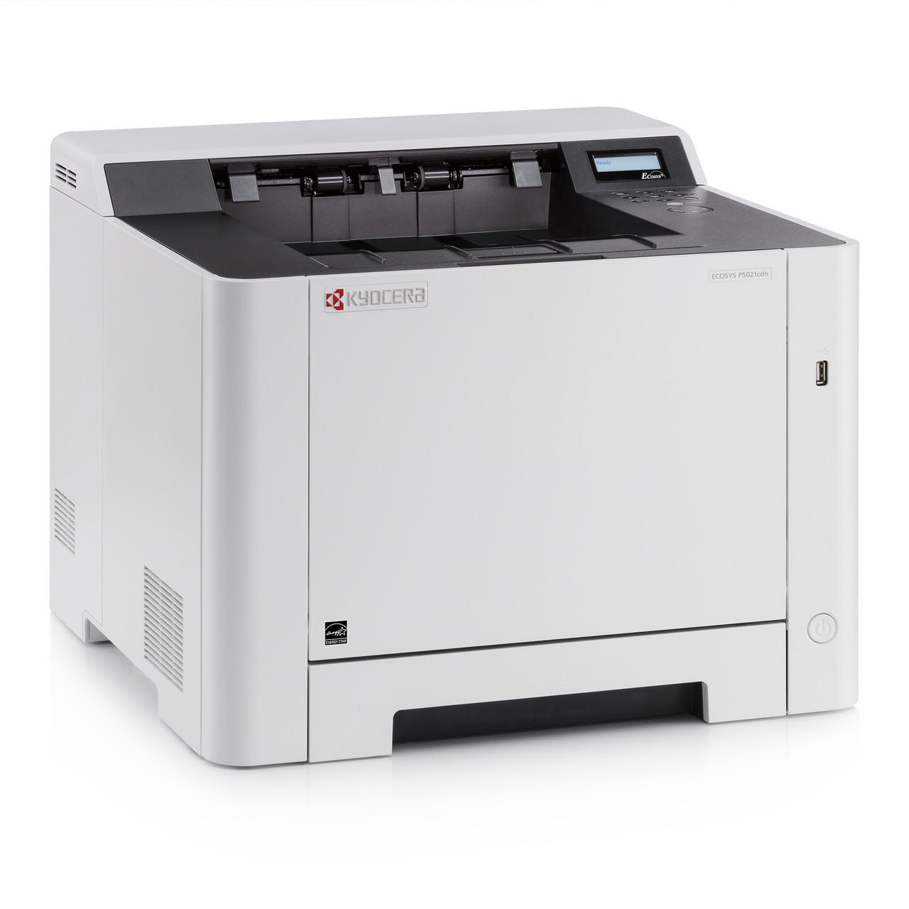 Принтер Kyocera ECOSYS P5021cdw (лазерный принтер/дуплекс)