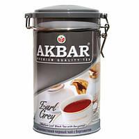 Чай Акbаr Граф Грэй Премиум 225 гр жестяная банка