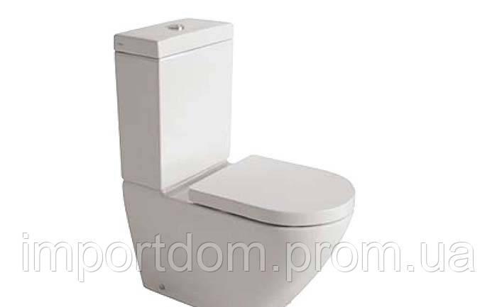 Бачок для унитаза моноблочного пристенного Globo Concept SA0222X белый глянец
