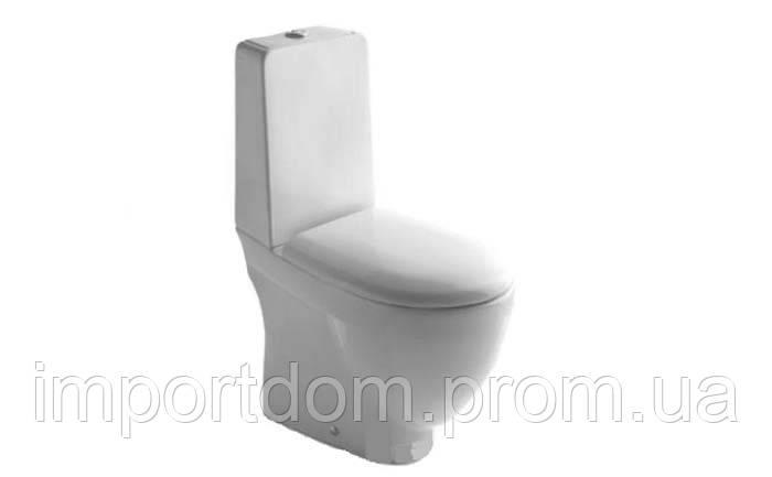Бачок для унитаза моноблочного Globo Bowl SB0082X белый глянец