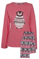 """Женская пижама Muzzy """"Пингвин в наушниках"""""""
