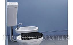 Бачок для унитаза с низкой трубой Canova Royal белый (1CZCV00)