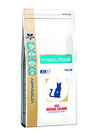 Royal Canin HYPOALERGENIC Feline 2.5кг -лечебный корм для кошек при пищевой аллергии/непереносимости