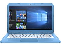 Ноутбук HP Stream 14-ax010nr (X7S44UA) ENERGY STAR Blue