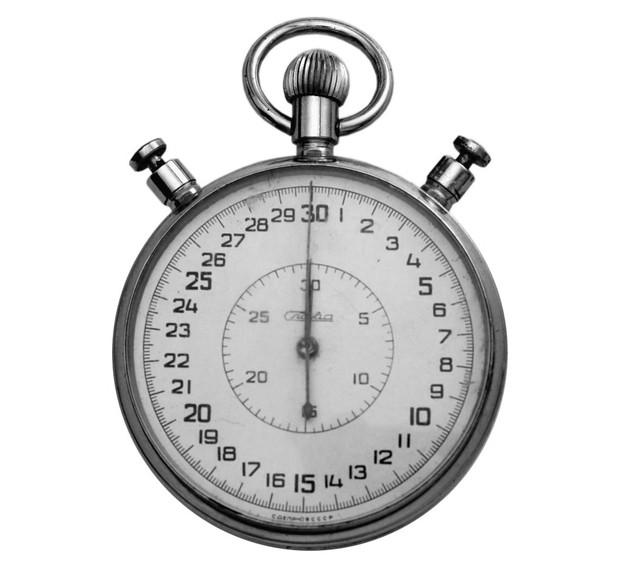 Слава механический секундомер