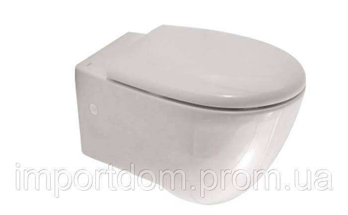 Унитаз подвесной Globo Bowl+ (Plus) SBS02.BI белый глянец