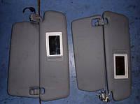 Козырек солнцезащитный комплектVWTouareg2002-2010 7L6857552Q, 7L6857552AC, 7L6857552AQ, 7L6857551AC, 7L685