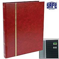 Альбом для марок SAFE - 32 страницы - А4 - чёрные страницы