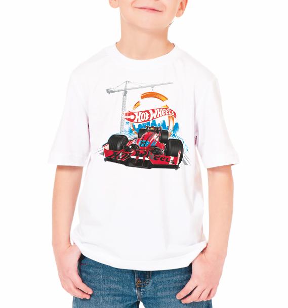 "Детская футболка ""Hot wheels"""