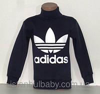 Теплый гольф (начес) Adidas на мальчика 3-х нитка 6,7,9 лет.Турция!!Теплая кофта, джемпер, гольф