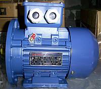 Электродвигатель АИР56В2 0,25 кВт 3000 об/мин (лапа+фланец)