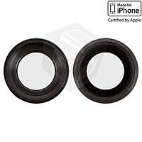 Стекло камеры для Apple iPhone 6S, оригинал, черное