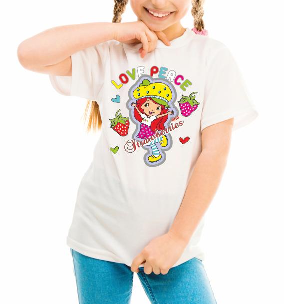 "Детская футболка ""Love peace"""