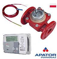 Счетчик тепла (теплосчетчик, тепломер) Apator LQM-III-FAUN-15 DN-50 механический  Q=15   м3/час, фланцевый