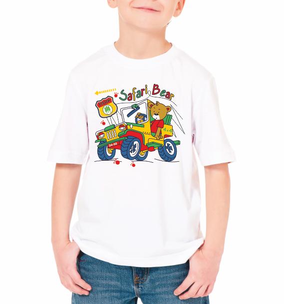 """Детская футболка """"Safari bear"""""""