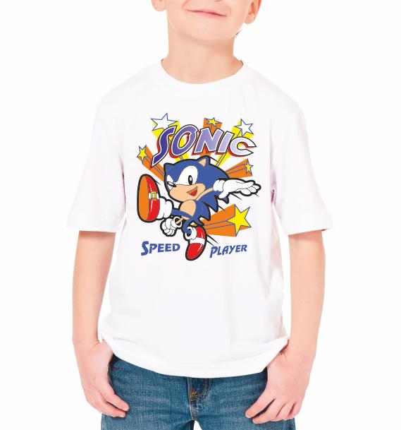 "Детская футболка ""Sonic"""