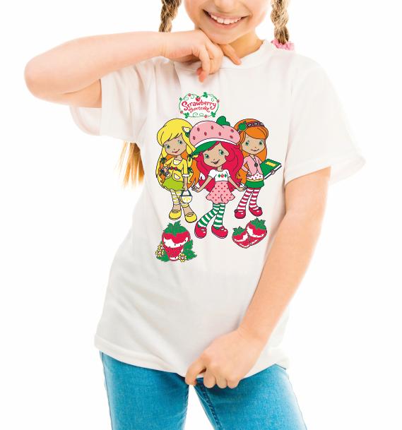 "Детская футболка ""Strawberry girls"""