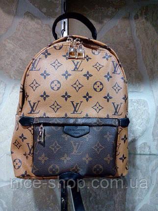 Рюкзак Louis Vuitton средний Люксовый, монограмм рыжий, фото 2